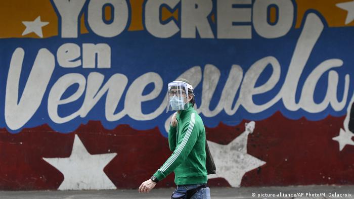Venezuela Caracas | Corona | Virusausbruch (picture-alliance/AP Photo/M. Delacroix)