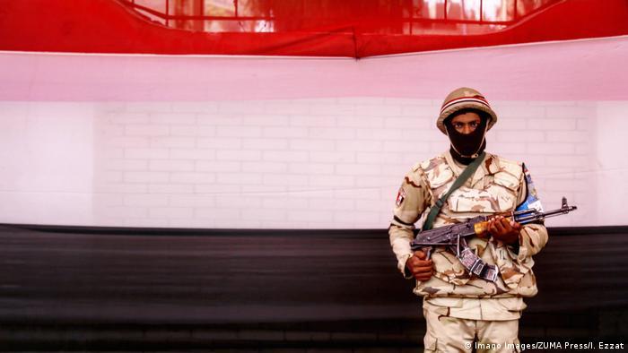 Ägypten Symbolbild Armee (Imago Images/ZUMA Press/I. Ezzat)