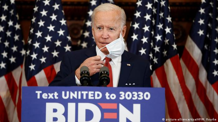 USA I Joe Biden (picture-alliance/dpa/AP/M. Rourke)