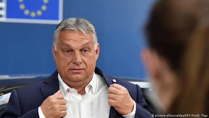 Viktor Orban (picture-alliance/dpa/AFP Pool/J. Thys)