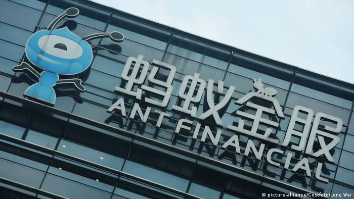 Ant Financial | Hauptquartier der Ant Group in Hangzhou (picture-alliance/Costfoto/Long Wei)