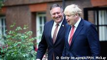 England London Besuch US-Außenminister Mike Pompeo