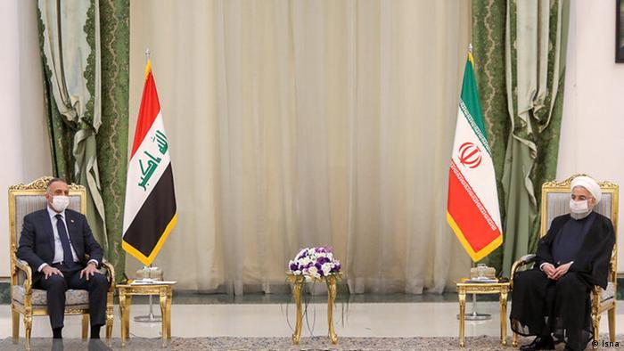 مصطفی کاظمی نخستین سفر خارجی خود را از ایران آغاز کرد
