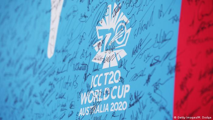 ICC T20 World Cup - Logo und Unterschriften (Getty Images/M. Dodge)