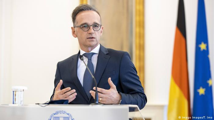 Griechenland Athen | Bundesaussenminister | Heiko Maas (Imago Images/T. Imo)