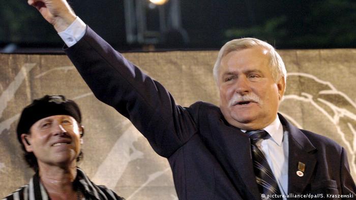 Klaus Meine o Wałęsie: On był tym, który otworzył drzwi do demokracji