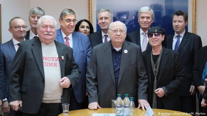 Wizyta u Gorbaczowa (listopad 2019)
