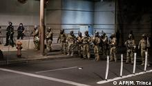USA Proteste in Portland   Bundespolizei