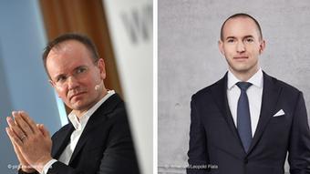 Kombibild | Wirecard | Markus Braun und Jan Marsalek