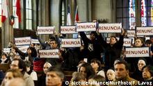 Chile Protest gegen Bischof Juan Barros