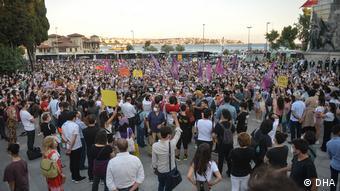 Διαδηλώση για τη δολοφονία της Πινάρ