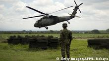 Kolumbien I Blackhawk Helikopter