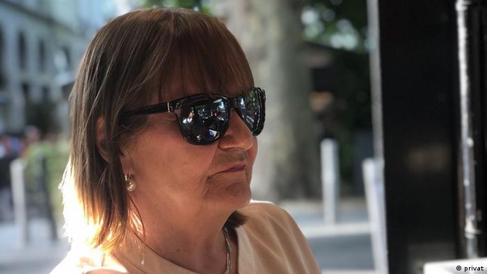 Catherine wearing sunglasses