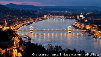 Ungarn Budapest Burghügel und Burg | Stadtansicht