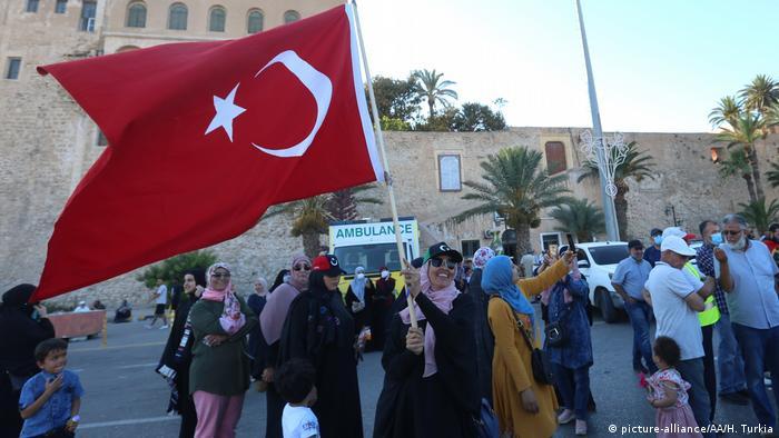 Туреччина - на боці міжнародно визнаного уряду Лівії в Триполі