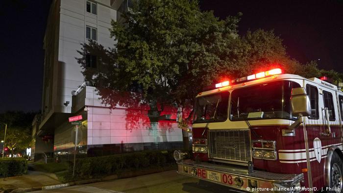 USA chinesiche Botschaft in Houston (picture-alliance/AP Photo/D. J. Phillip)