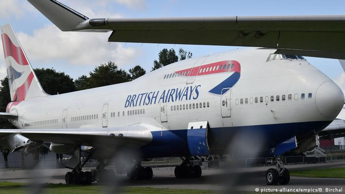 British Airways Boeing 747 (picture-alliance/empics/B. Birchal)