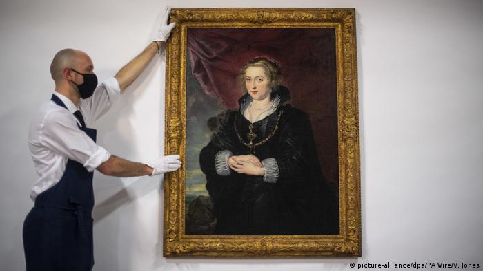 Rubens-Gemälde im Auktionshaus Sotheby's