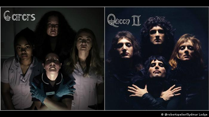Доглядальниці для обкладинки Queen