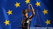 Justitia als Symbol der Rechtsprechung