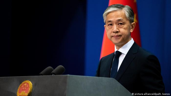 China Sprecher Außenministerium Wang Wenbin