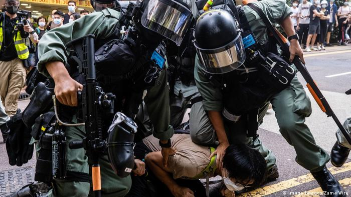 DW Global 3000 - GLOD Proteste Hongkong (Imago Images/Zuma Wire)