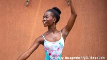 A ballet teacher in Lagos teaches students for free – to give them food for their soul.