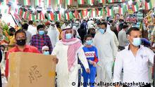 Kuwait Coronavirus Kuwait-Stadt Markt