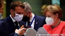 Brüssel I Angela Merkel und Emmanuel Macron