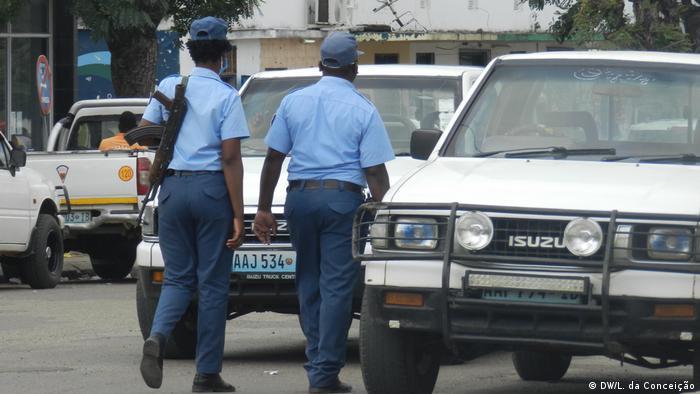 Polizei in Mosambik