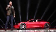 USA Tesla Roadster | Elon Musk