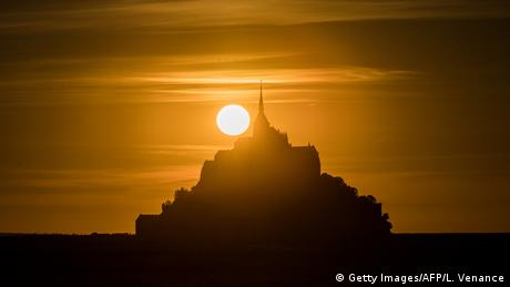 BdTD Frankreich Mont-Saint-Michel (Getty Images/AFP/L. Venance)