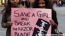 Feb. 6, 2016 - Madrid, Madrid, Spain - Women protesting during the International Day against female genital mutilation Madrid Spain PUBLICATIONxINxGERxSUIxAUTxONLY - ZUMAp133 Feb 6 2016 Madrid Madrid Spain Women protesting during The International Day against Female Genital mutilation Madrid Spain PUBLICATIONxINxGERxSUIxAUTxONLY ZUMAp133