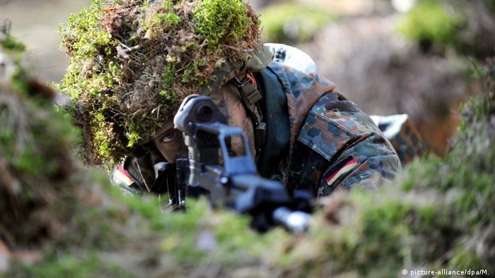 Schnupperkurs für Zeitsoldaten: Militärische Grundausbildung