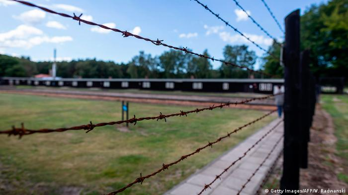 Stutthof concentration camp in Poland
