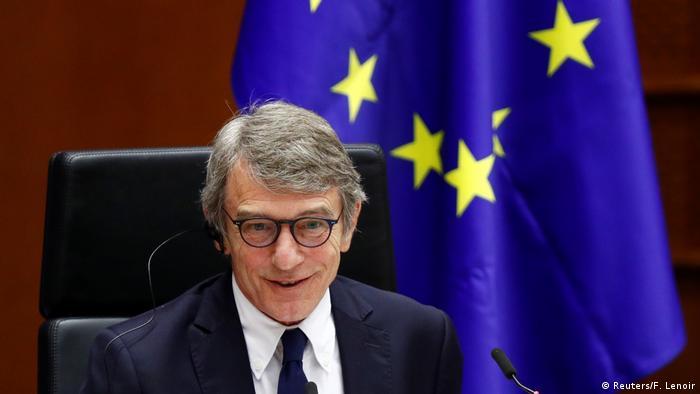 Brüssel Außerordentliche Plenarsitzung des EU-Parlaments