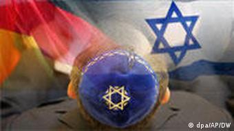 German and Israeli flags
