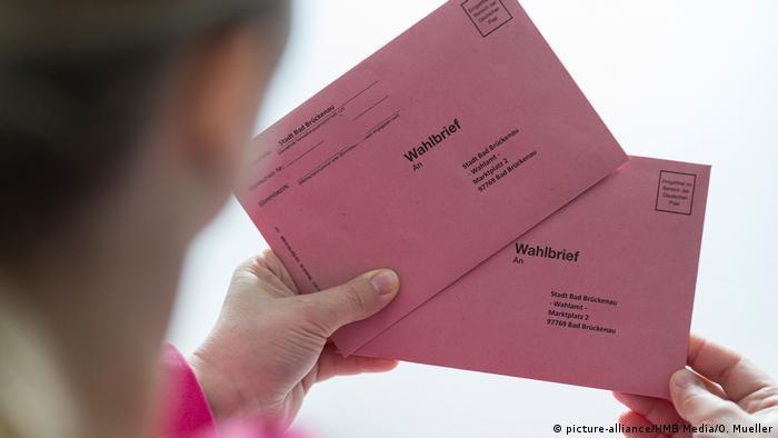 Kommunalwahl als Briefwahl in Bayern
