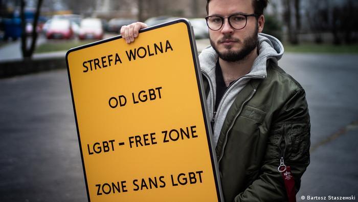 Polen LGBT Free Zone (Bartosz Staszewski)