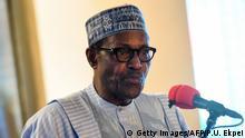 Nigeria Präsident Mohammadu Buhari (Getty Images/AFP/P.U. Ekpei)