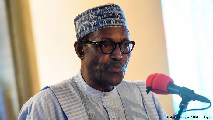 Nigeria Präsident Mohammadu Buhari