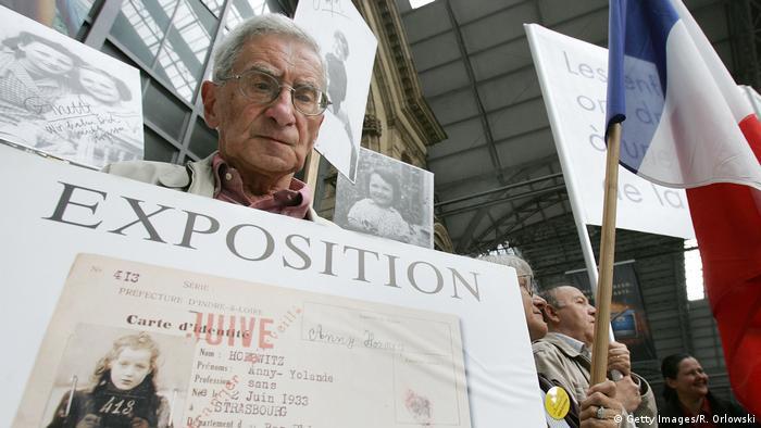 Henri Zajdenwerger | Protest Deutsche Bahn