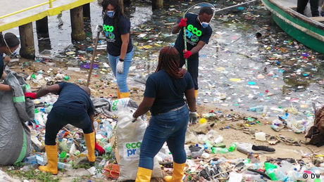 Eco Africa - Clearing Nigeria's water ways from trash