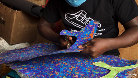 Eco Africa - Doing Your Bit: Making sandals from recycled plastic