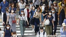 Japan Osaka | Coronavirus | Steigende Fallzahlen