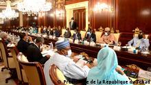 Tschad N'Djaména |Präsident Idriss Déby Itno, Kabinettssitzung