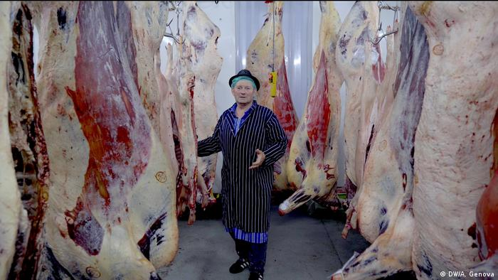 William Lloyd Williams abattoir, Machynlleth, Wales
