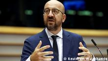 Außerordentliche Plenarsitzung des EU-Parlaments in Brüssel