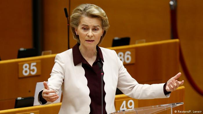 Außerordentliche Plenarsitzung des EU-Parlaments in Brüssel (Reuters/F. Lenoir)