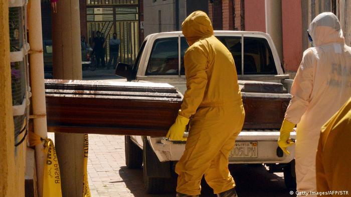 Bolivien I Auswirkungen der Corona-Pandemie (Getty Images/AFP/STR)